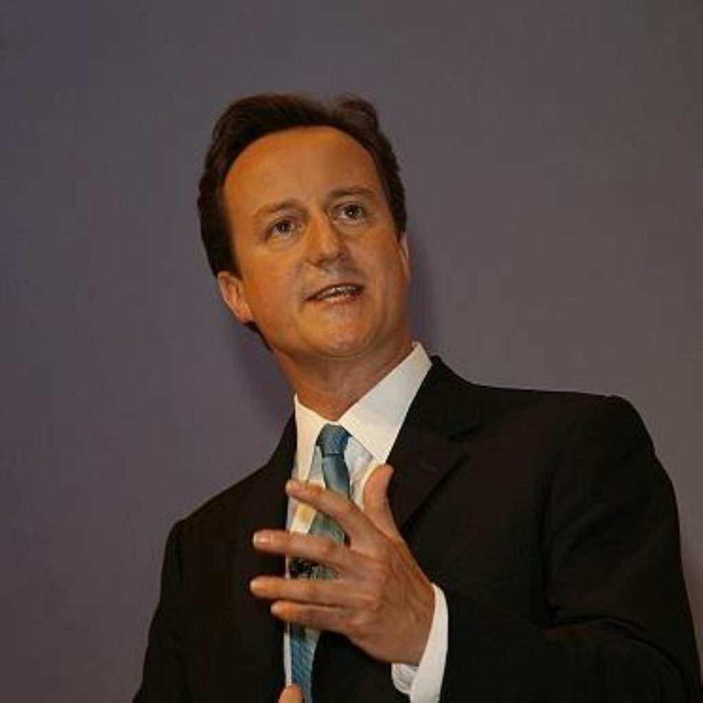 David Cameron delivered his speech to the Northern Ireland Assembly.