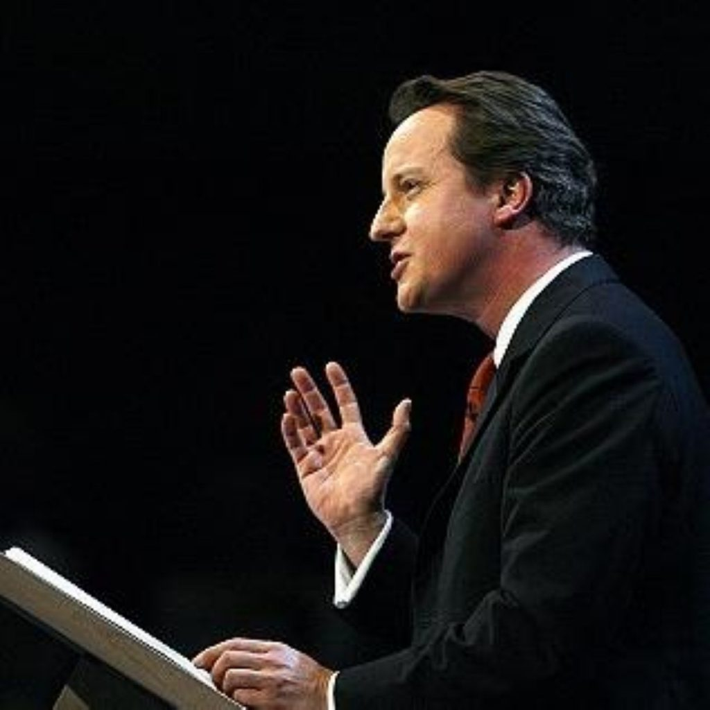 David Cameron makes the case for intervention in Libya