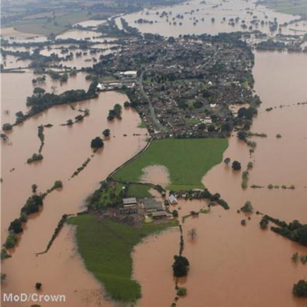 Flooded: Oxfam warns climate change means poor will be worst affected