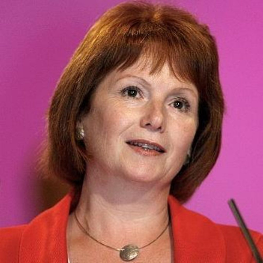 Hazel Blears rallies Labour with fighting speech