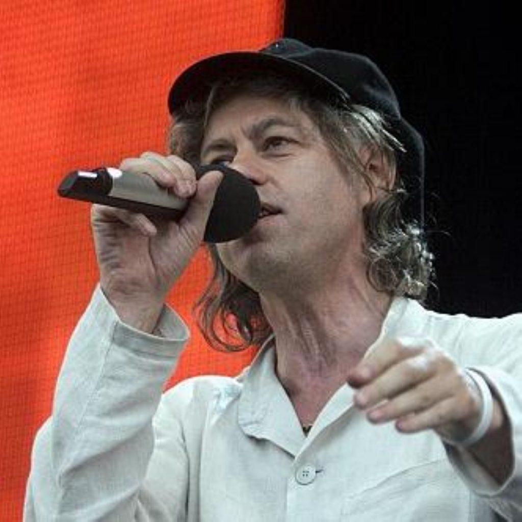 Bob Geldof is no stranger to activism