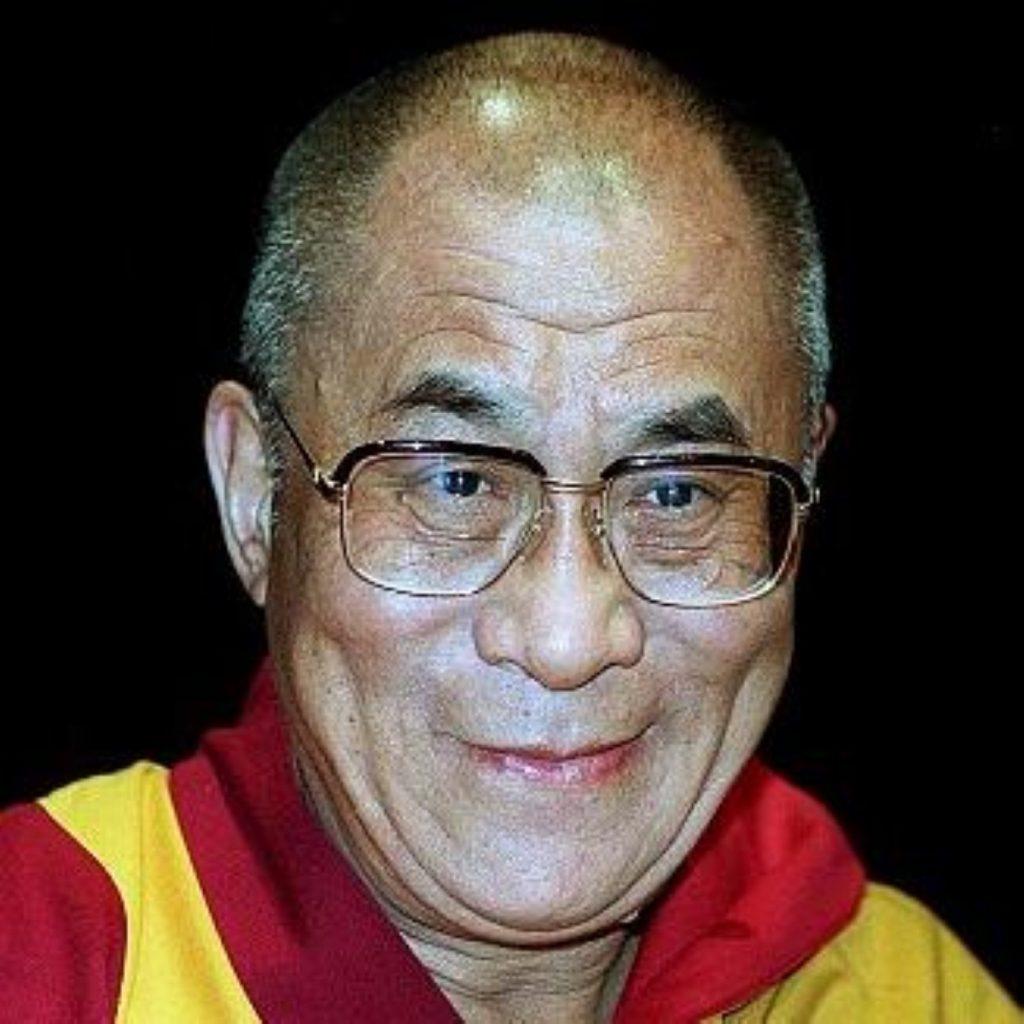 Dalai Lama arrives in Britain for 11-day visit