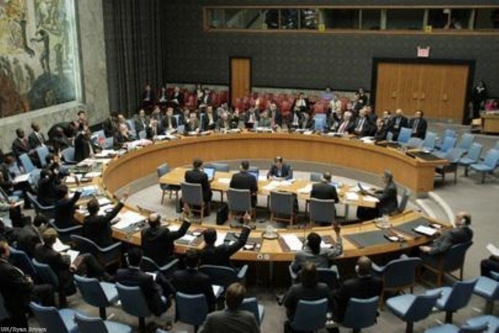 Security council unites to condemn Zimbabwe persecution