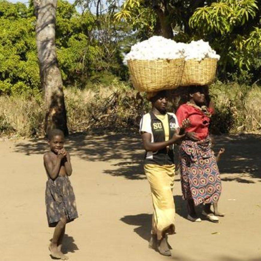 Brown to push for millenium development goals