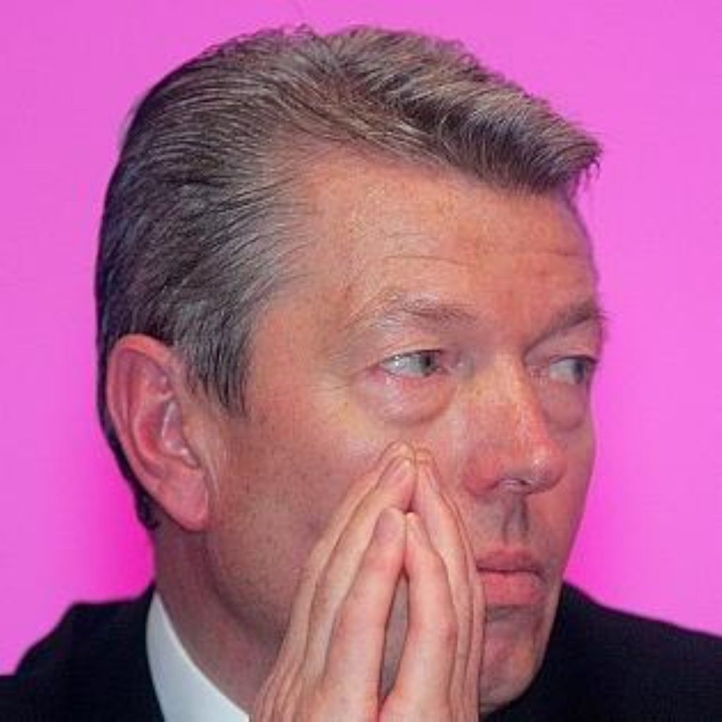 Alan Johnson resigned in January citing personal reasons