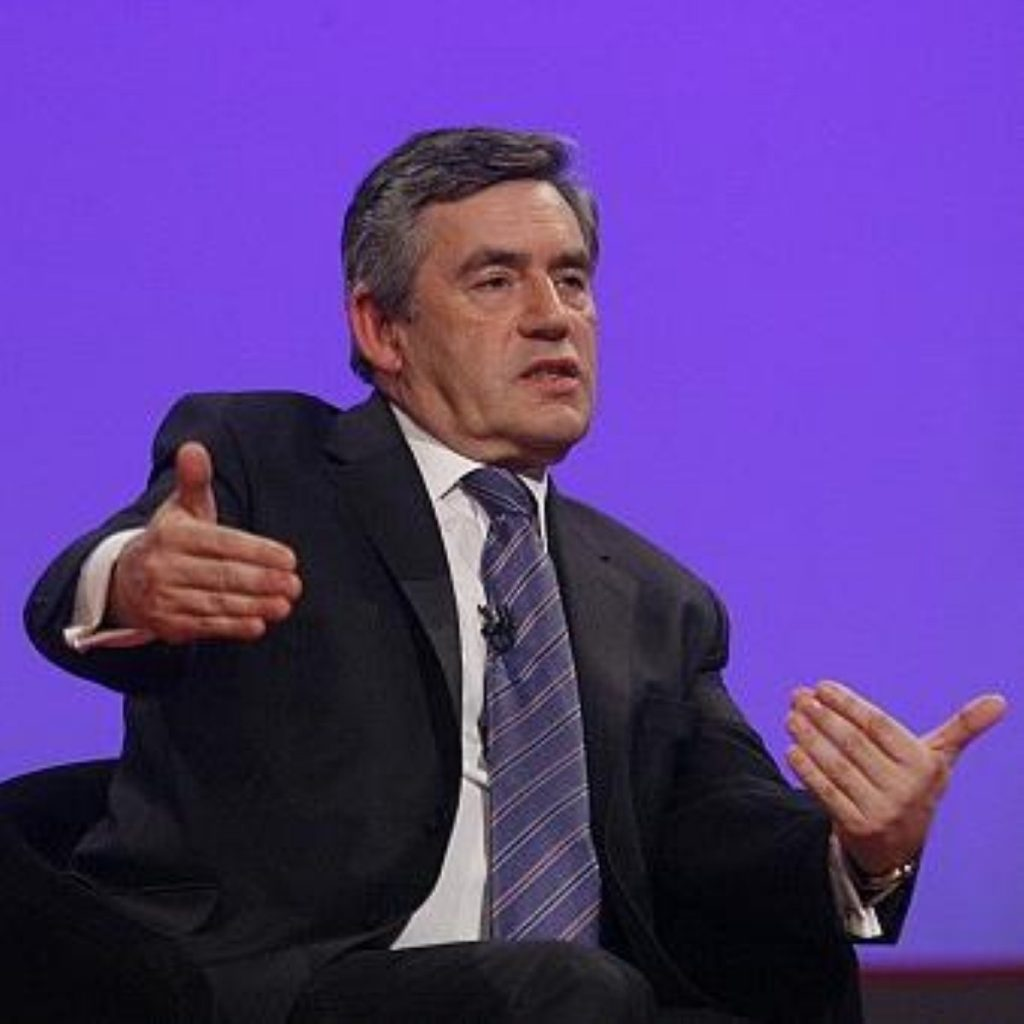 Gordon Brown says he made mistakes in the 2007 Budget