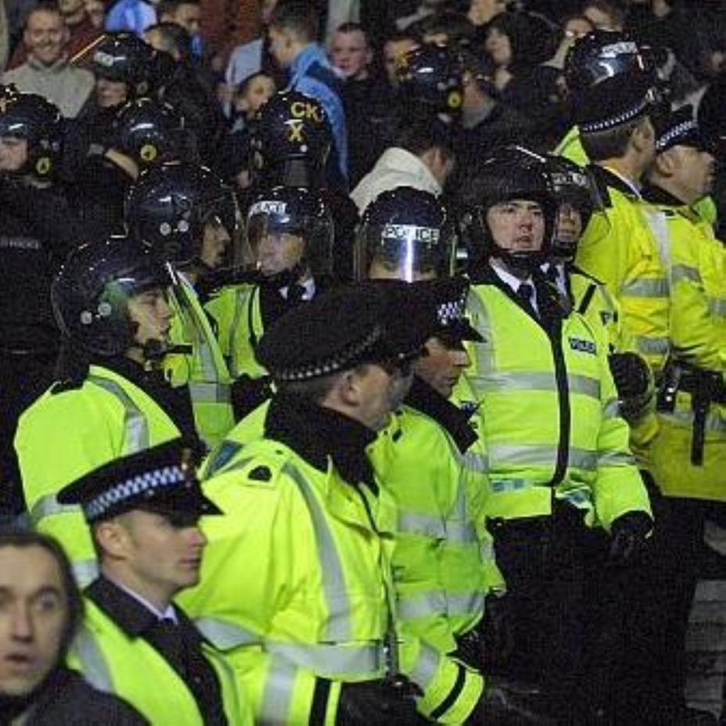 Police numbers have been substantially increased in London after three days of rioting