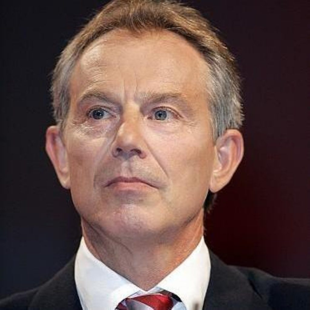 """Tony Blair made clear he was """"sorry"""" Tutu would not attend the summit"""
