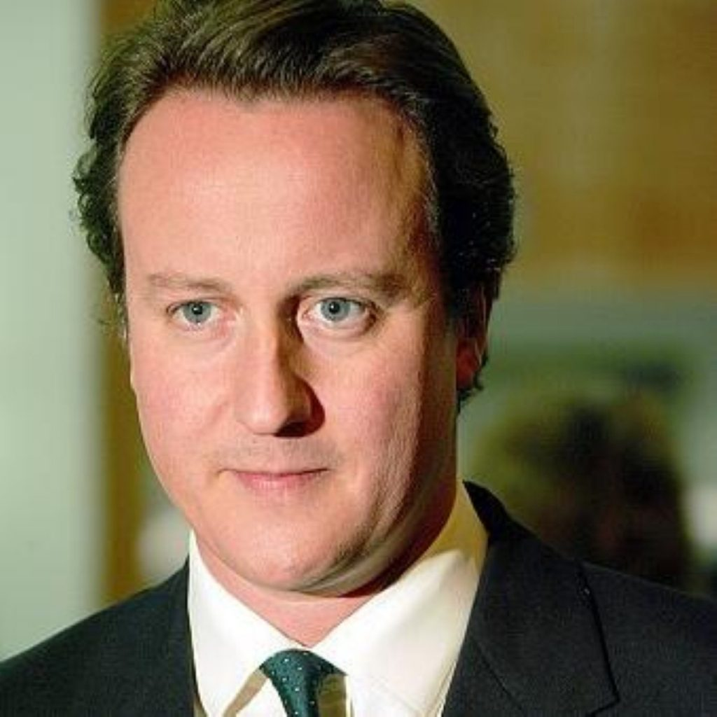 Cameron 'grateful' to Brown