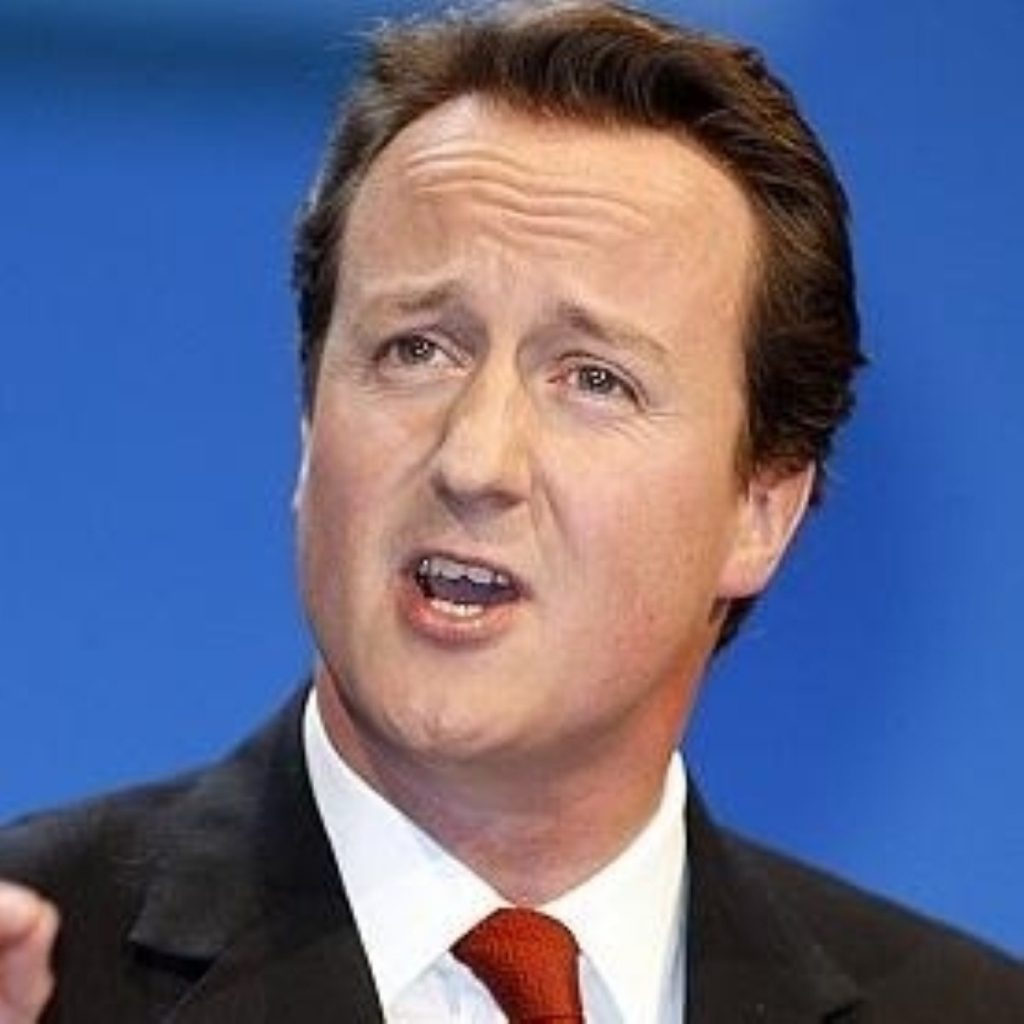 Cameron 'vigorously opposed' to SNP independence plans