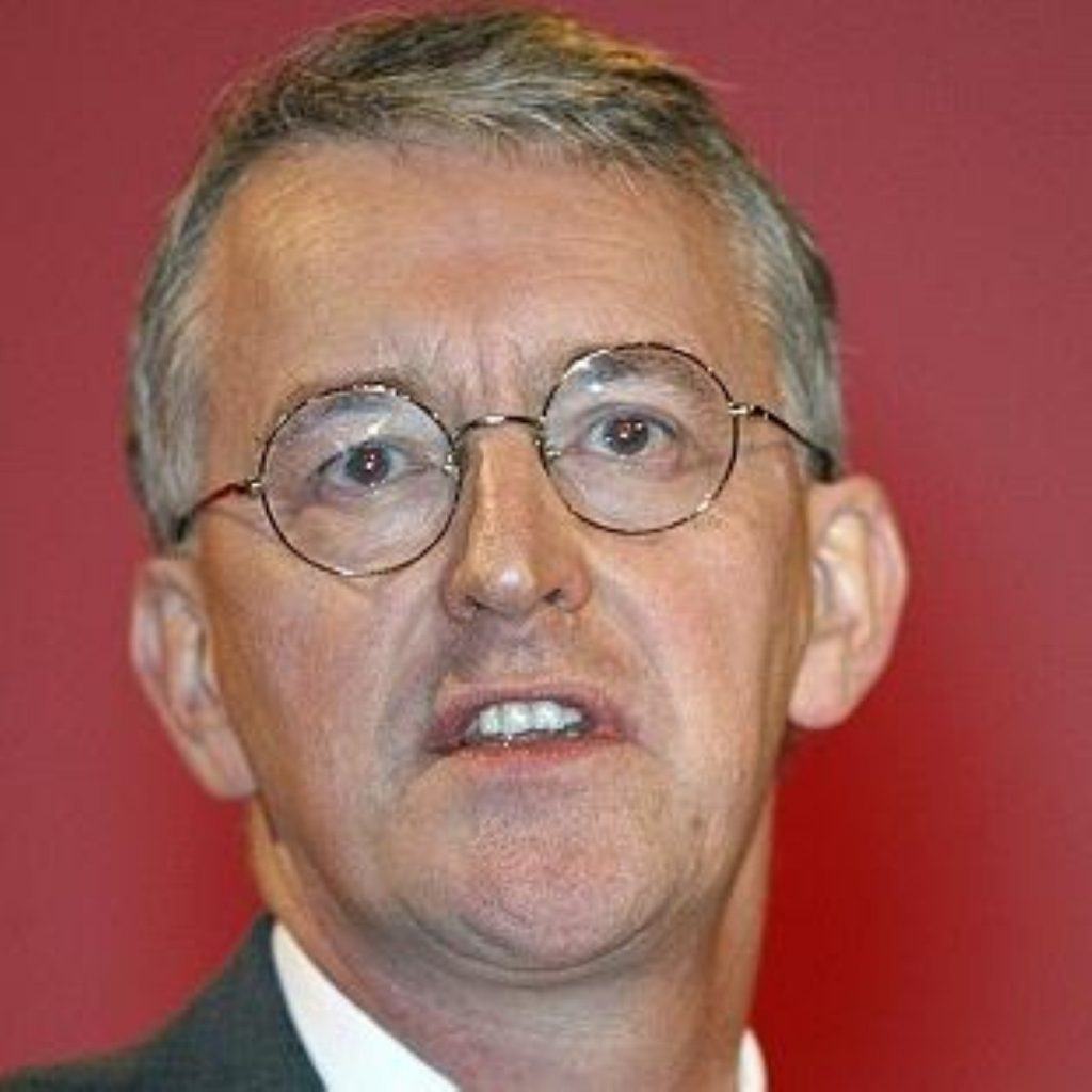 Benn says 60 per cent target will be looked at