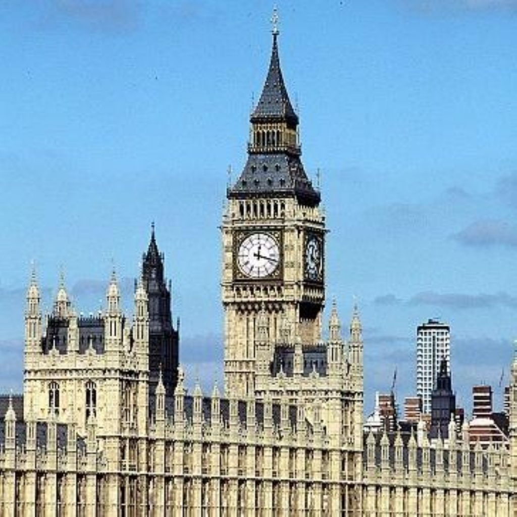 Top Tory attacks parliament protest
