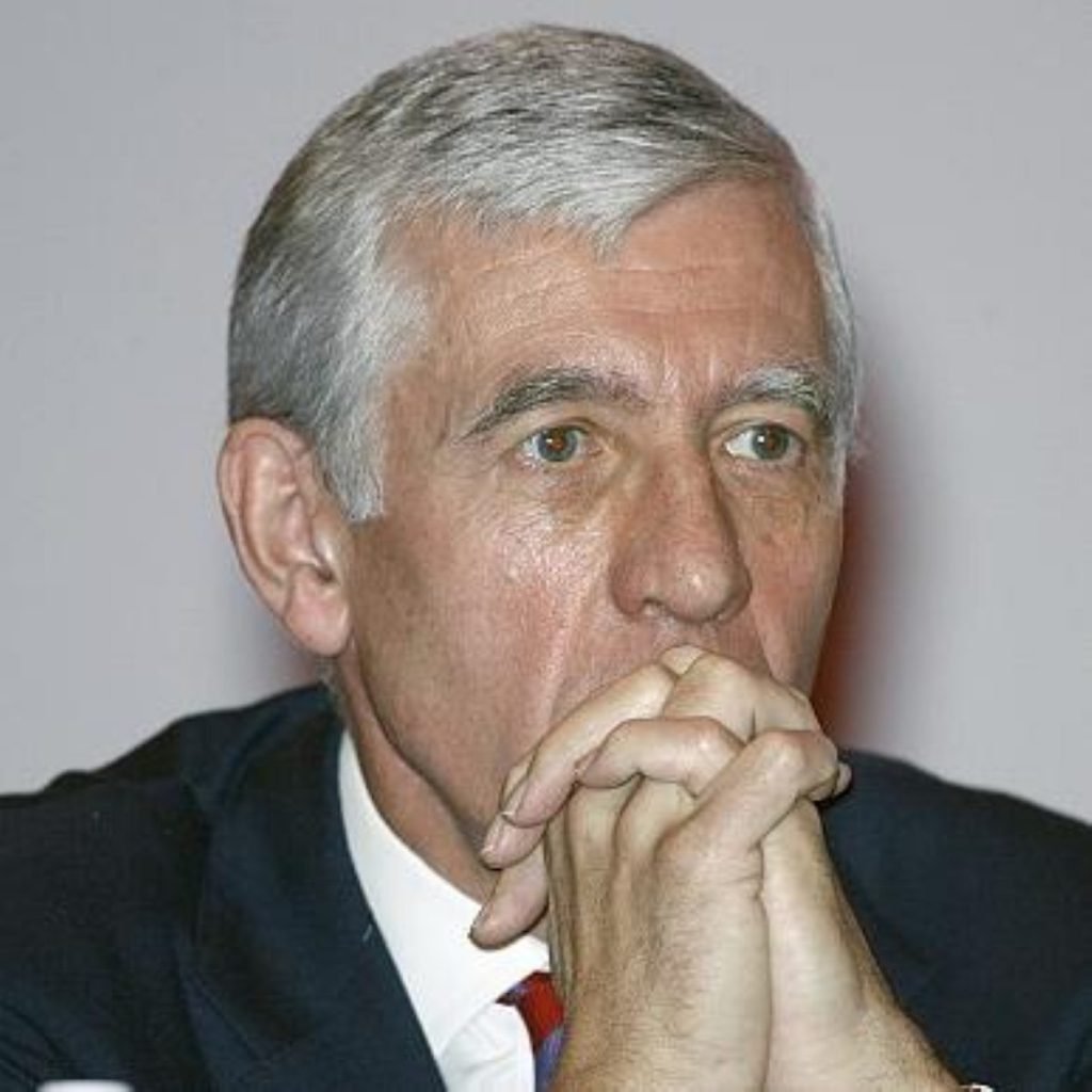 Jack Straw, justice secretary, whose department produced the bill