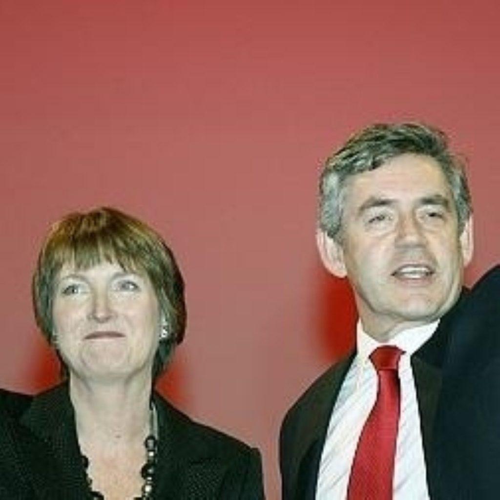 Harriet Harman spoke up for the PM last night
