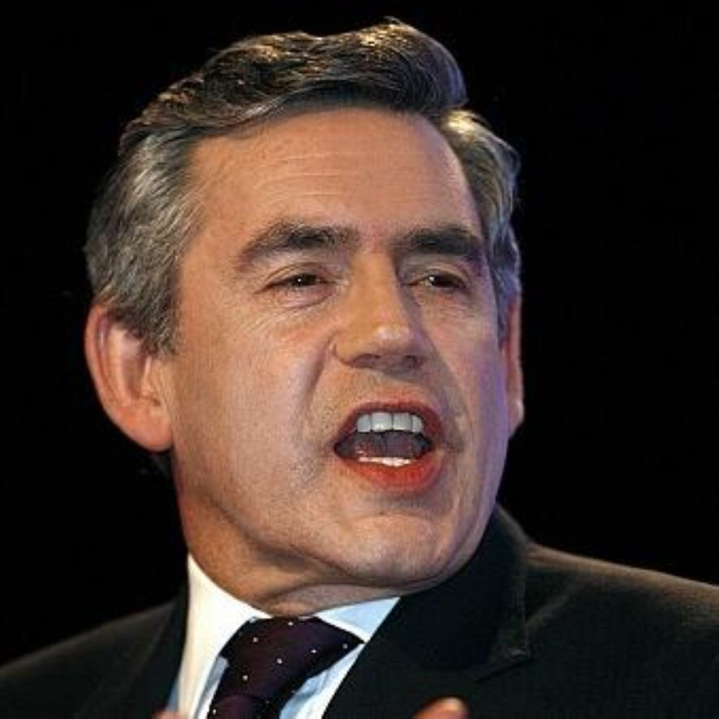 Gordon Brown is concerned by rising food prices