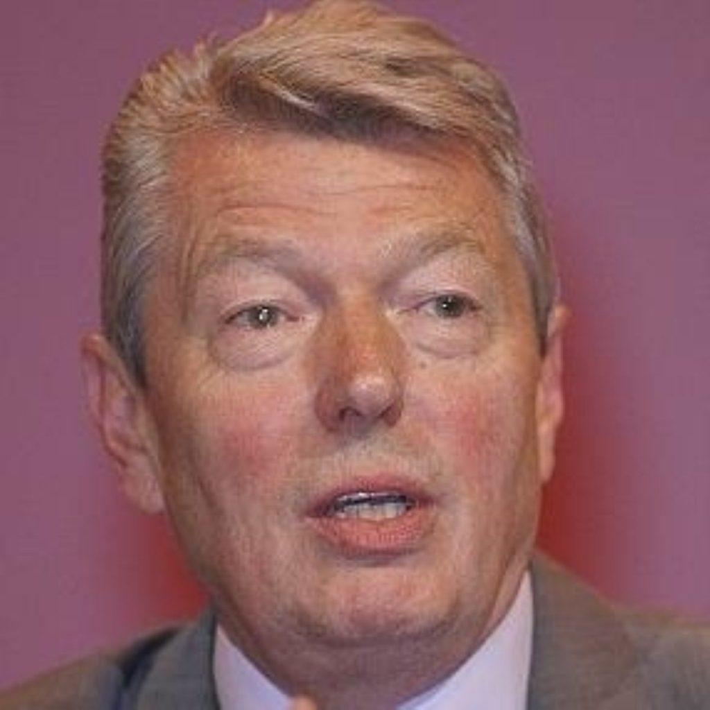 Alan Johnson, home secretary