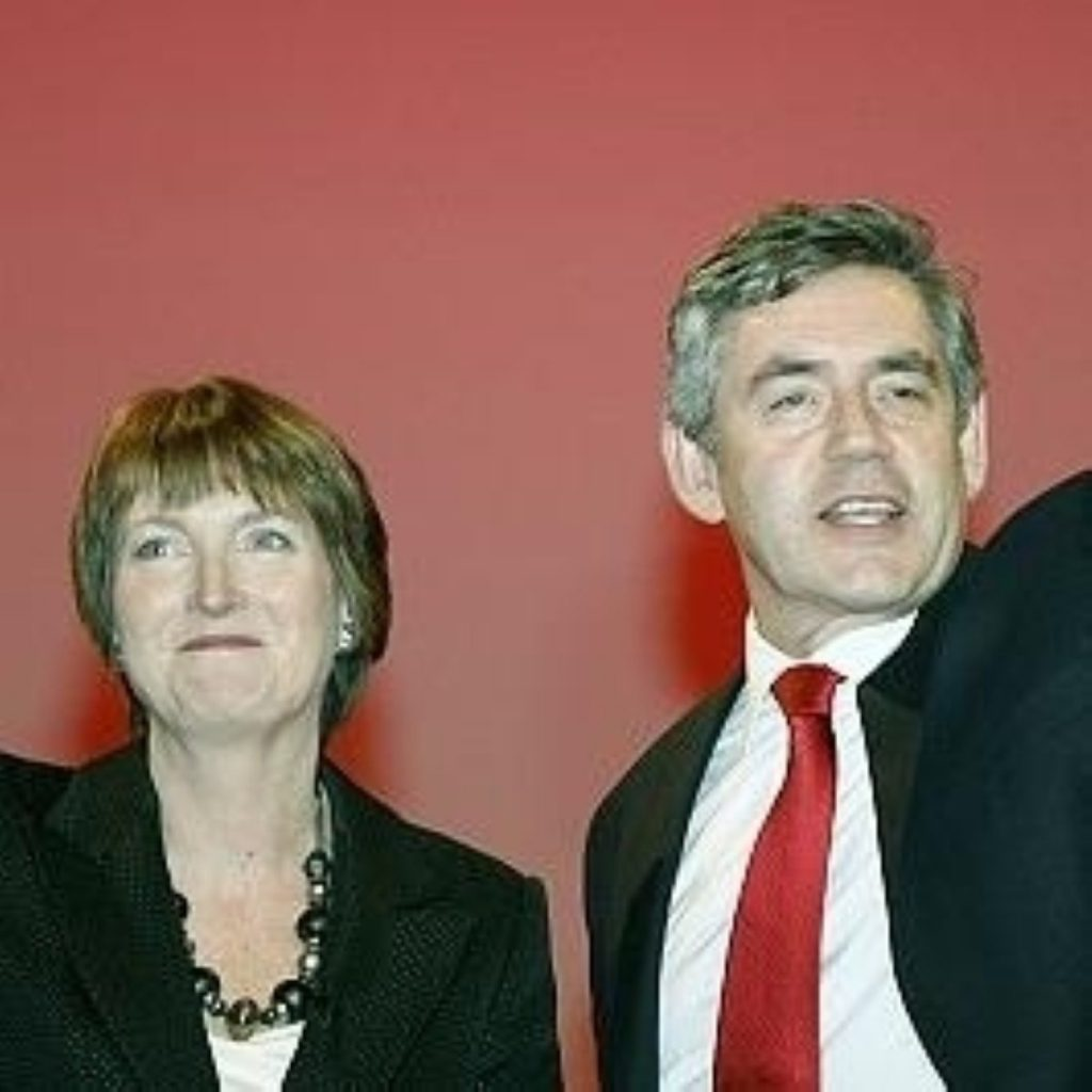 Brown and Harman launch local election campaign