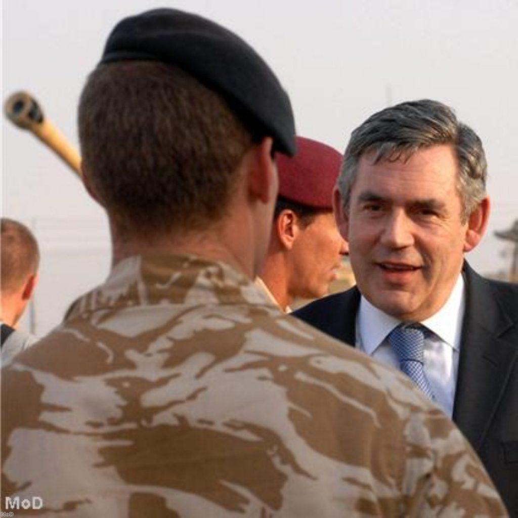 Gordon Brown visited Afghanistan earlier this week