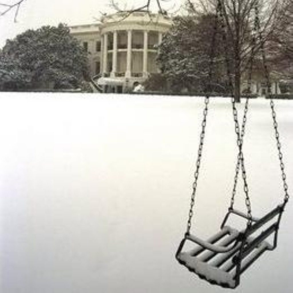 Brown left out in the cold by White House snow