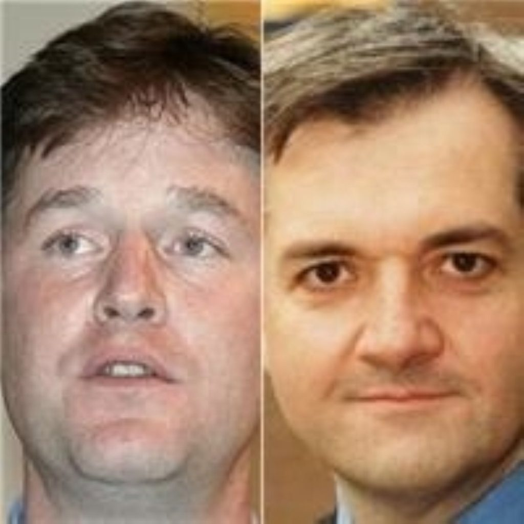 'Calamity Clegg' makes a pointed remark about Chris Huhne