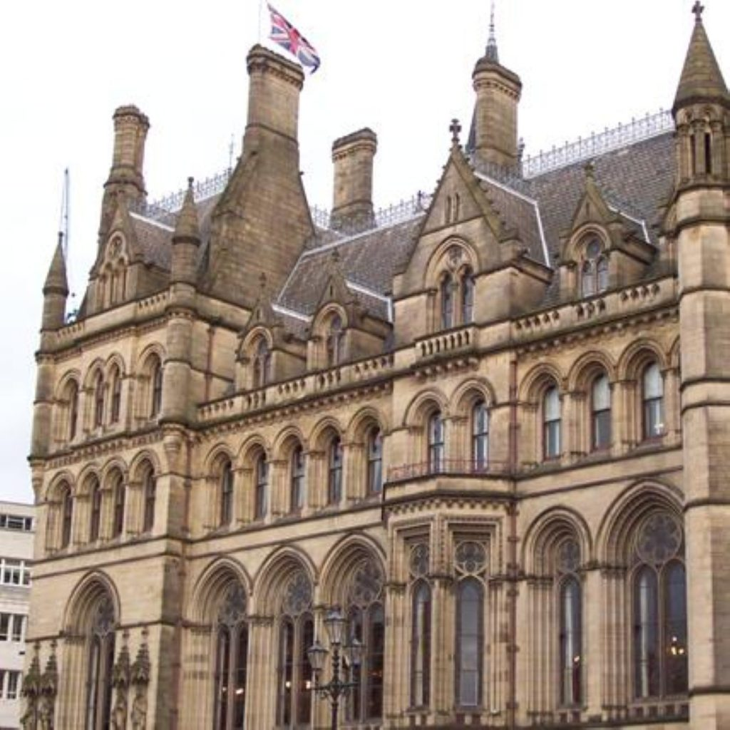 Manchester Town Hall, near the conference centre