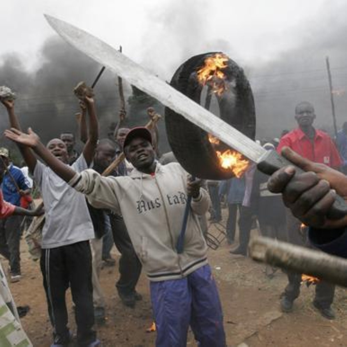 Much of Kenya's violence is inter-tribal
