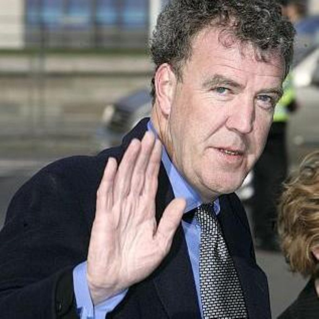 Clarkson: Facing demands to go, but supported by PM