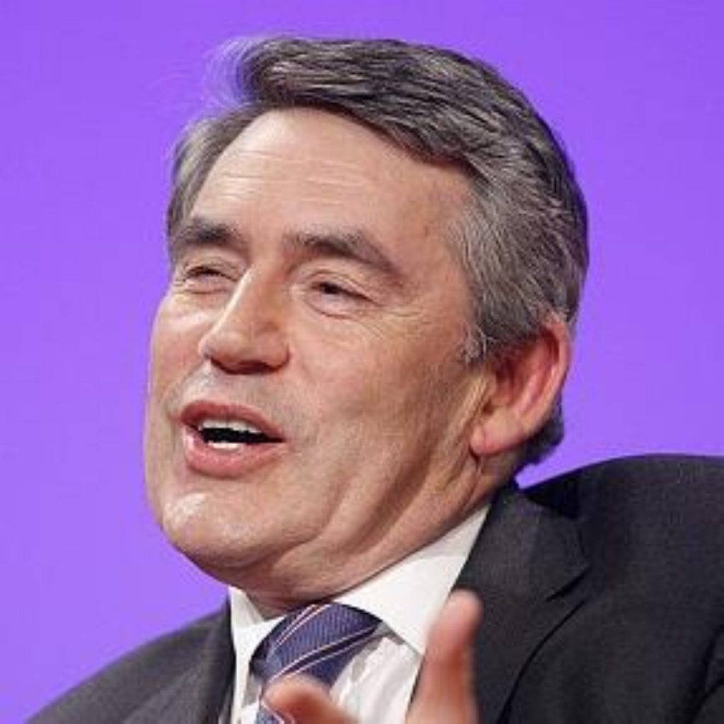Gordon Brown has dismissed suggestions a broken society exists in Britain