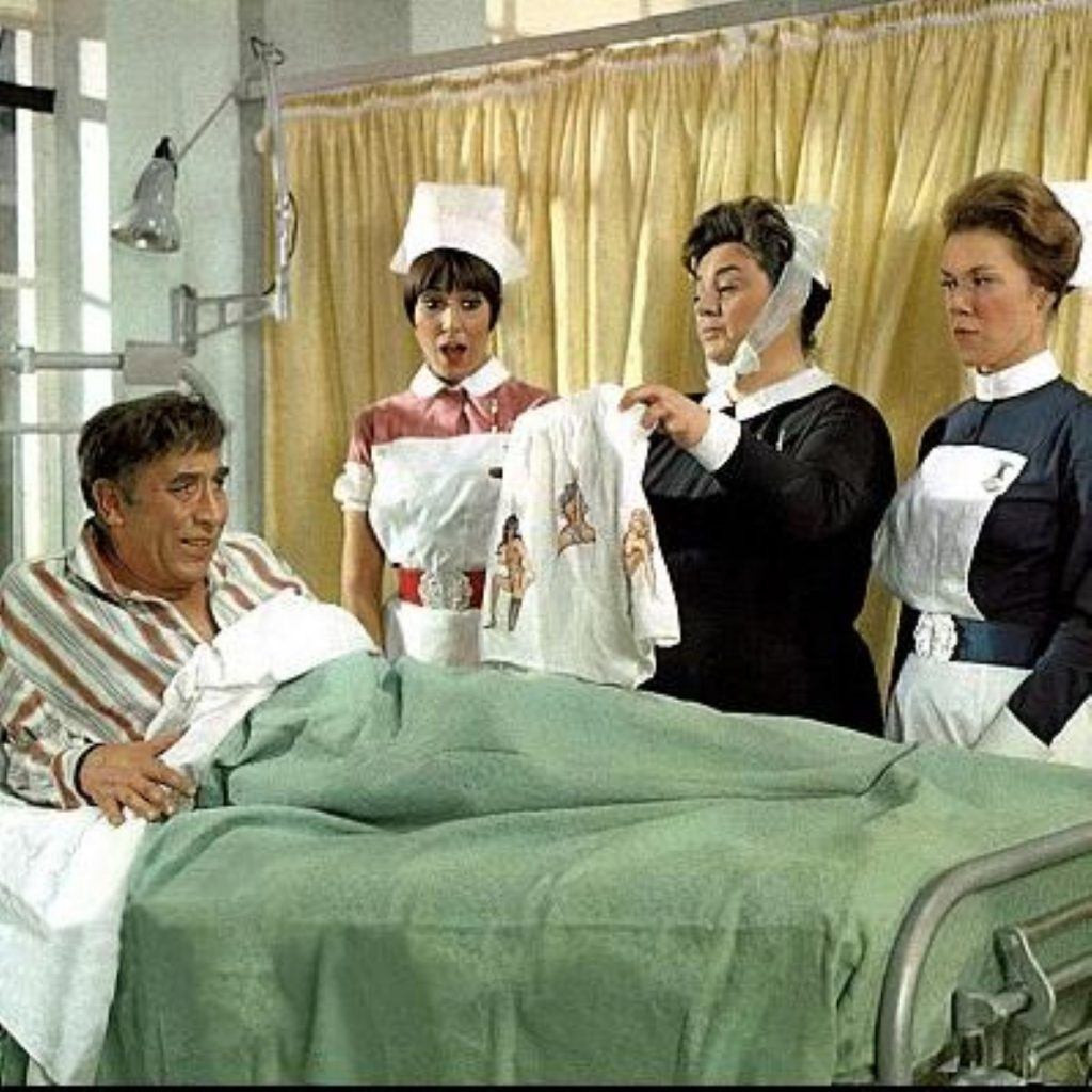 Carry on Matron: Cameron wants a return to authority on the wards.