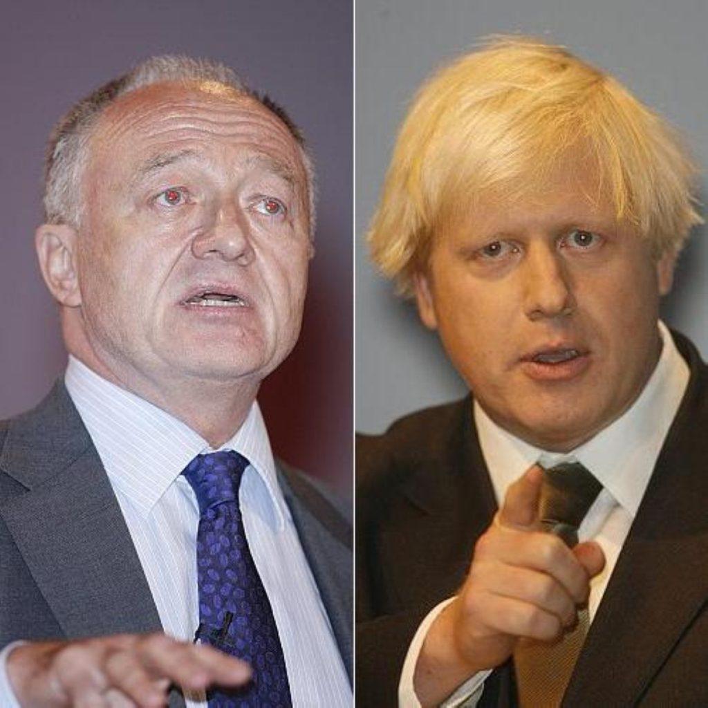 Boris attacked the late running Livingstone
