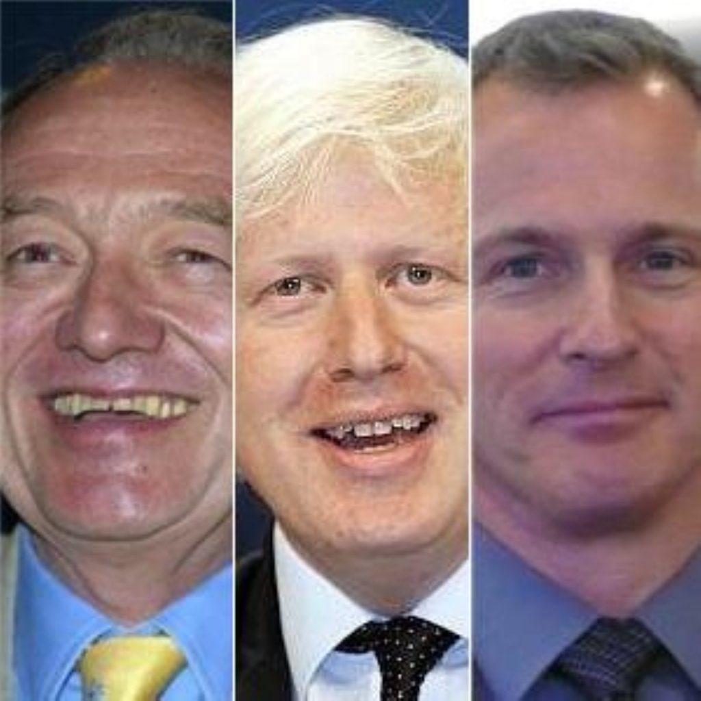 Boris Johnson 13 pts ahead of Ken Livingstone