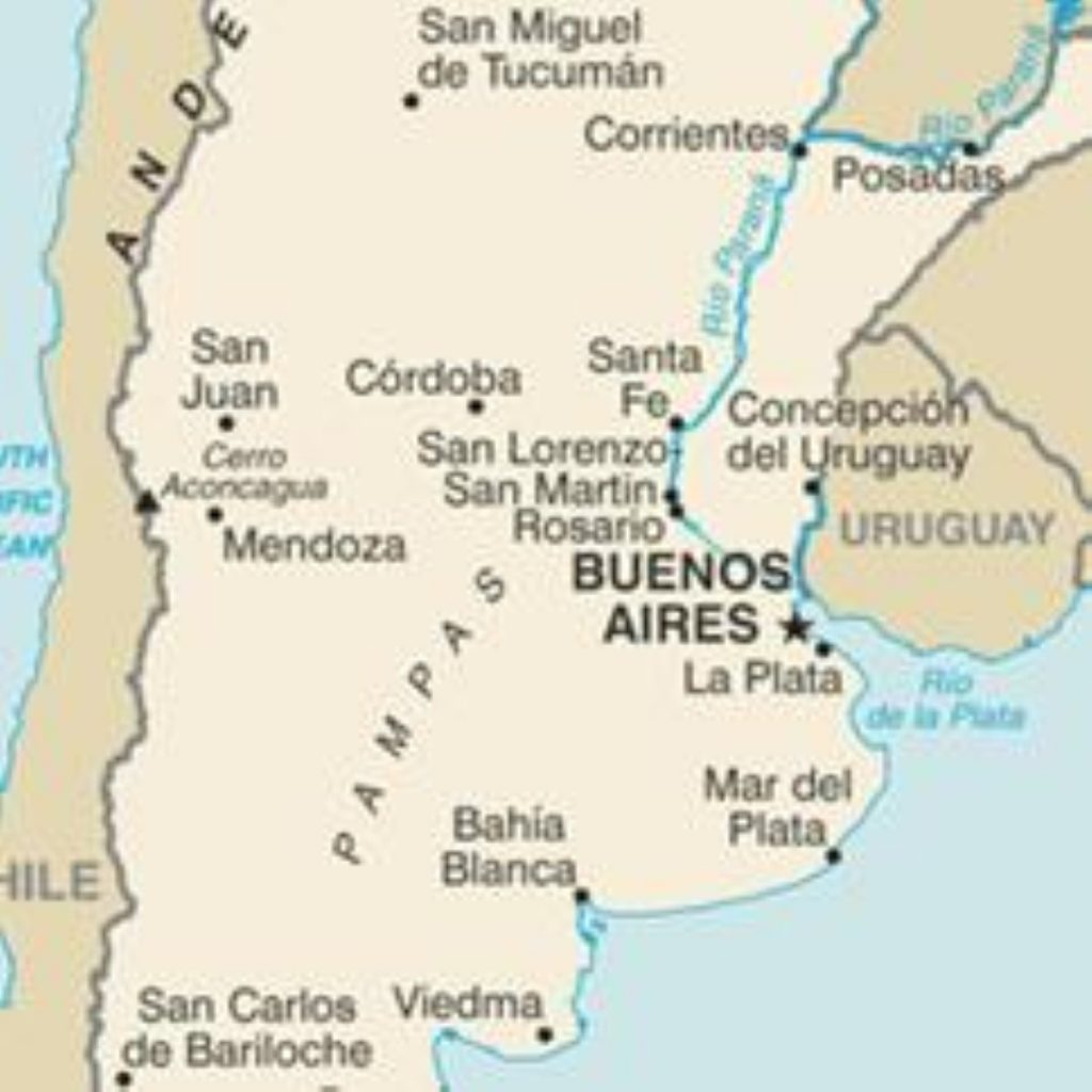 Argentina has reacted angrily to the exploration
