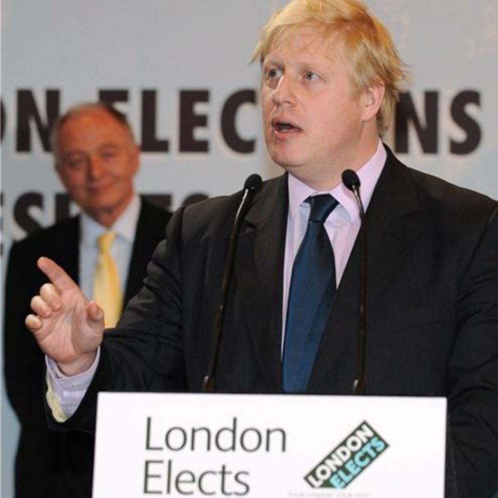 Boris Johnson is new London mayor