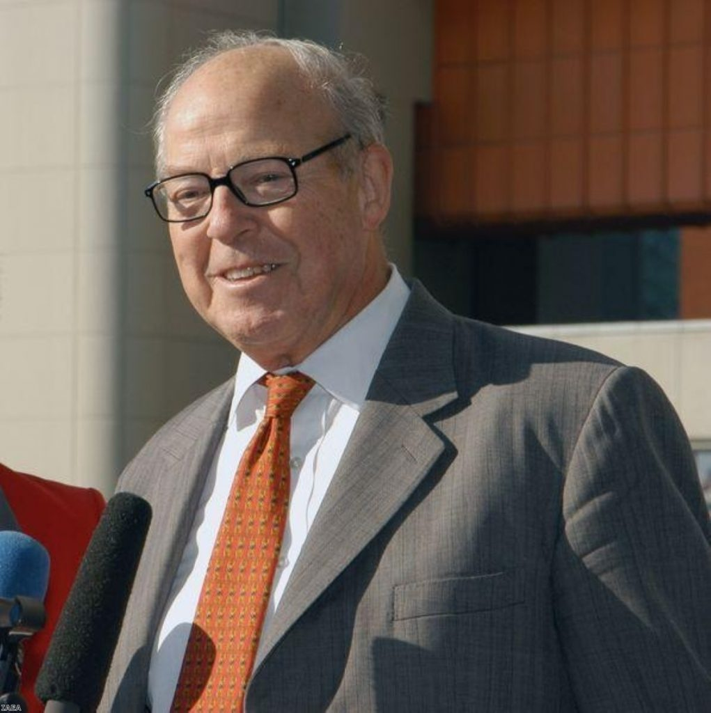 """Hans Blix warned nuclear disarmament efforts are """"stagnating"""""""