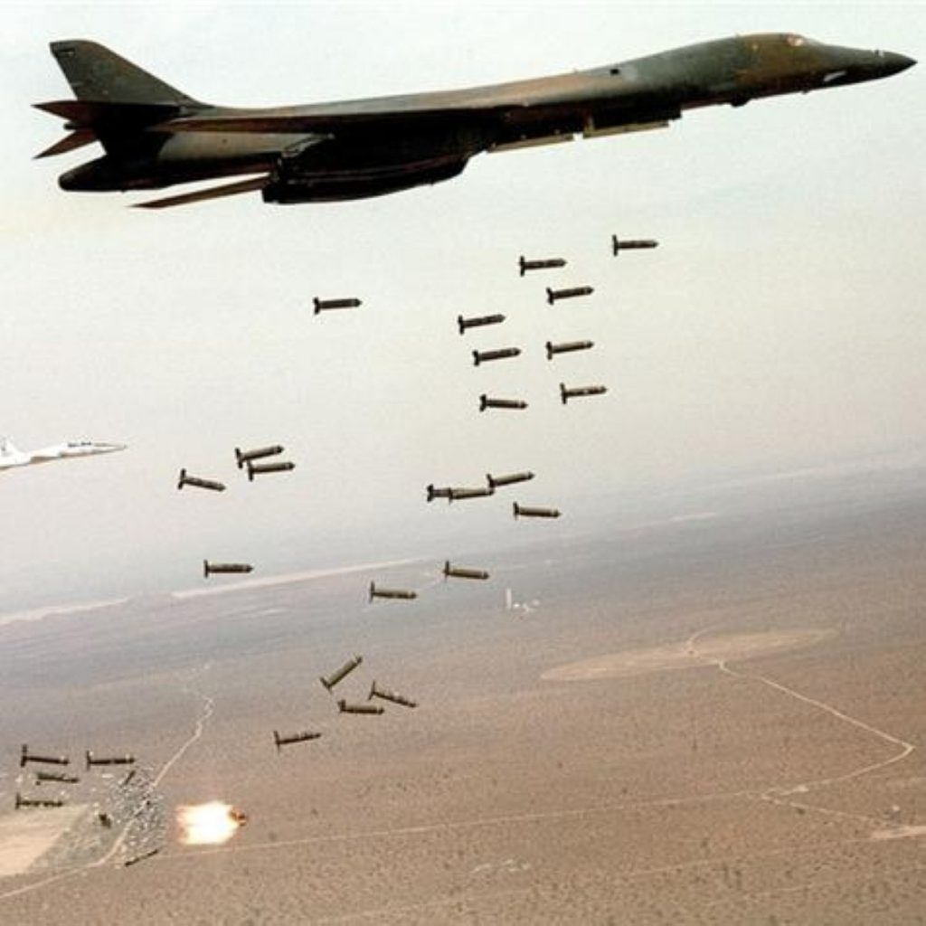 British banks 'funding cluster munitions'