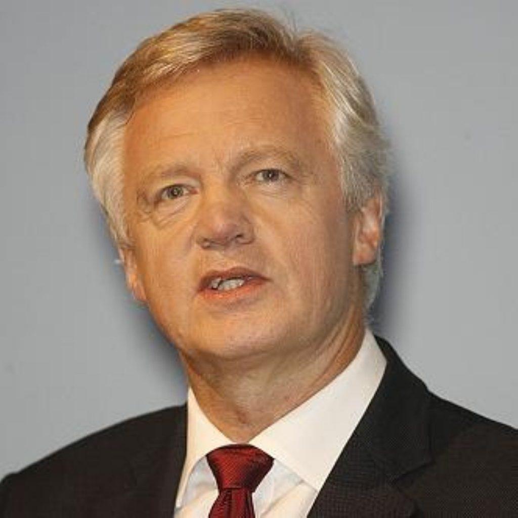 Mr Davis resigned as shadow home secretary to campaign for civil liberties