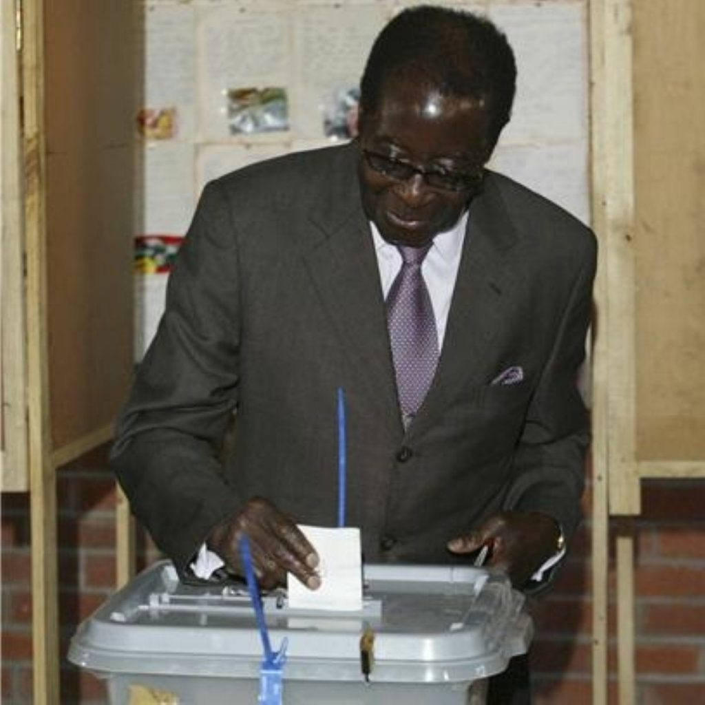 Mr Mugabe's behaviour during the elections turned even allies against him