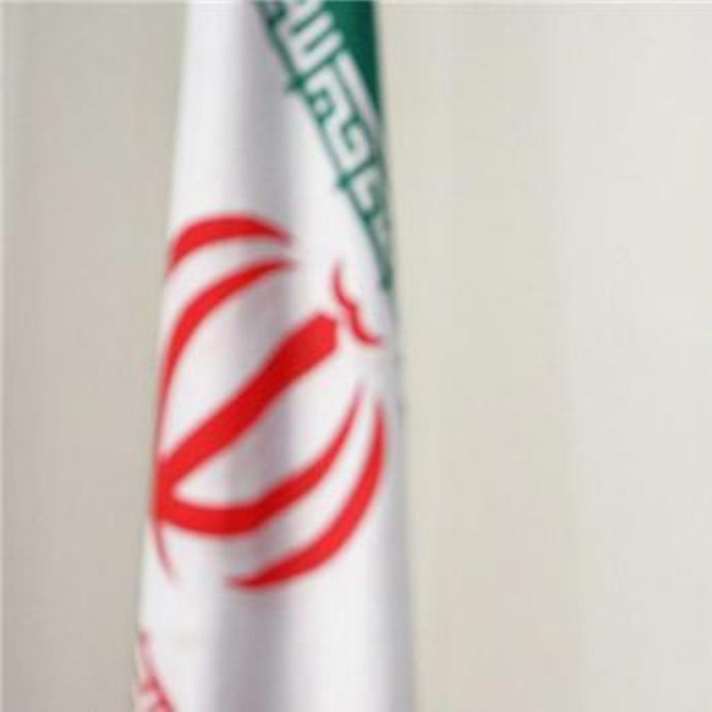 Iranian government officials have accused the UK and US of stirring up trouble