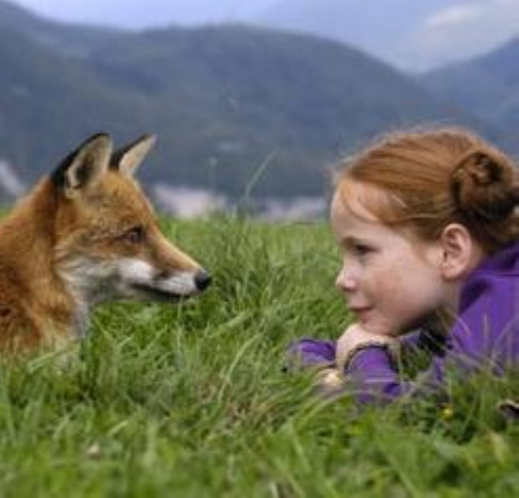 Was Maria Hutchings upset by a fox as a child?