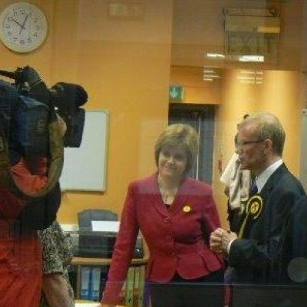 Mr Mason led the SNP to a crucial victory