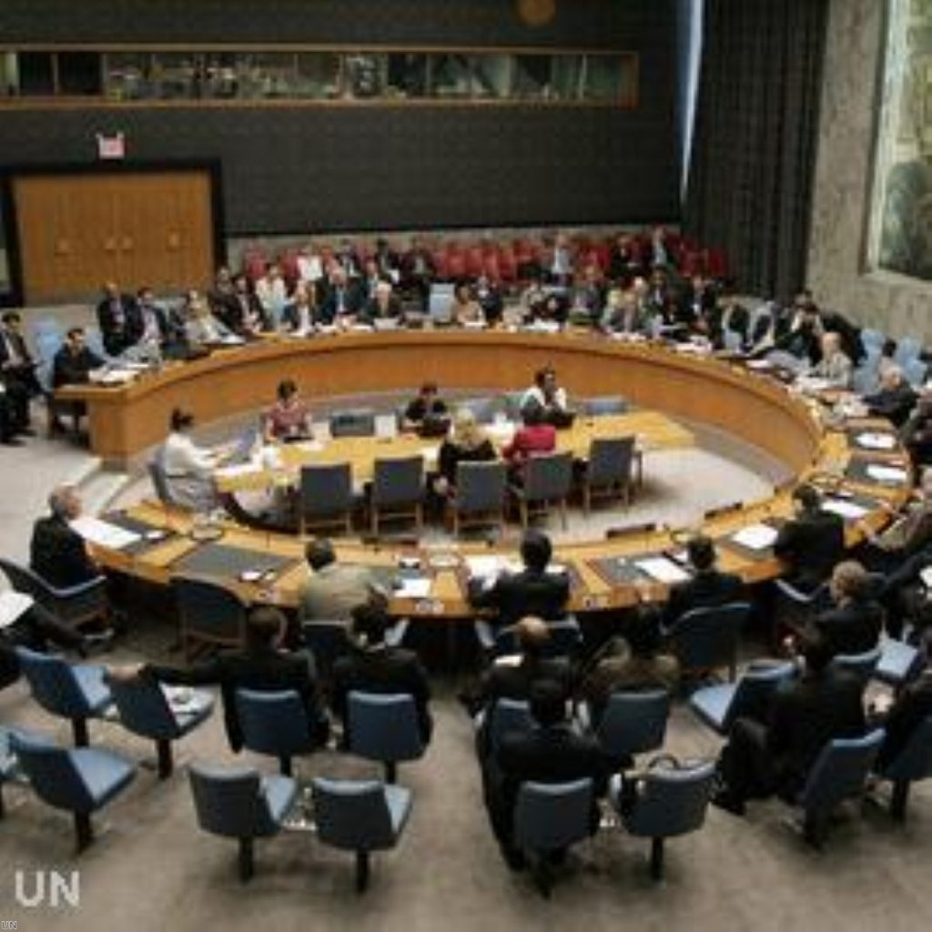 The US could veto the Security Council next week