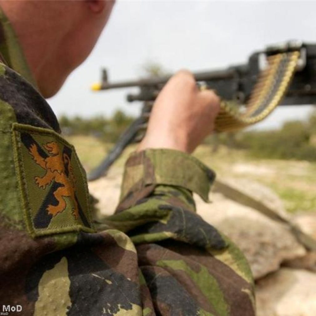 MPs turn their fire on last year's defence review