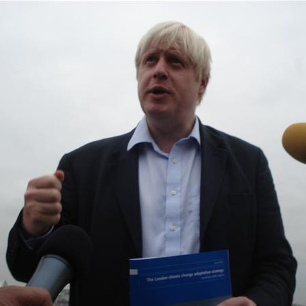 Boris Johnson chairs MPA for first time
