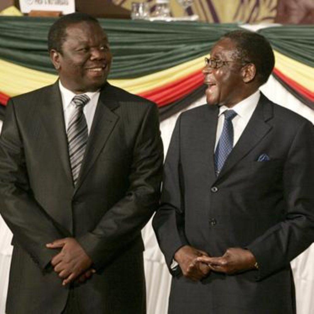 Powersharing deal in Zimbabwe reached last week