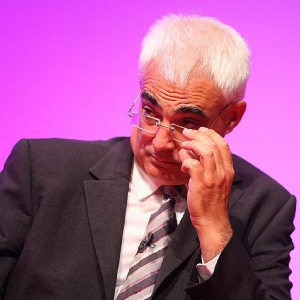 Combating global economic turmoil will require same cooperation employed to fight terrorism, Alistair Darling says