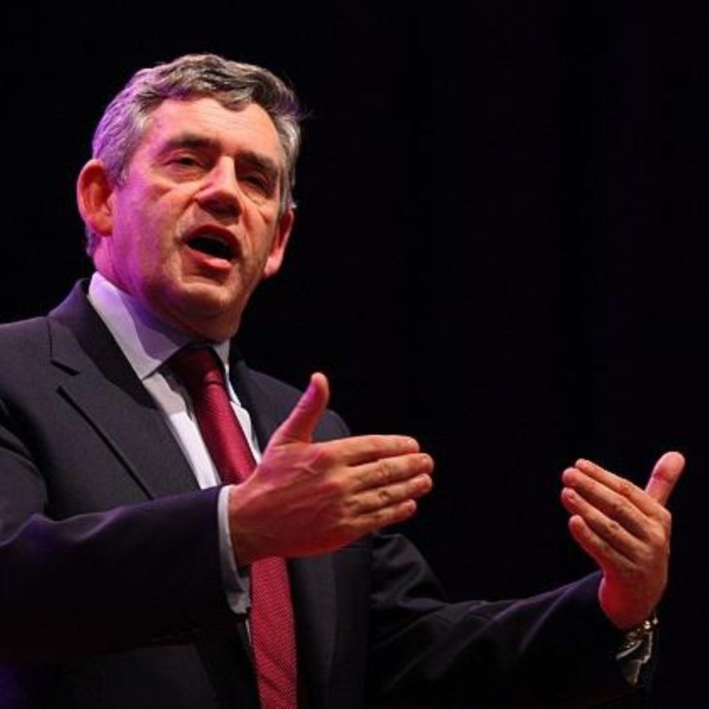 Gordon Brown has been forced to deny knowledge of Damian Green's arrest