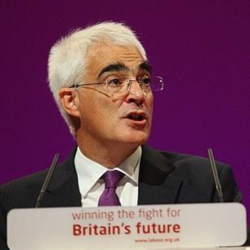 Alistair Darling is hosting a meeting of G20 finance ministers today.