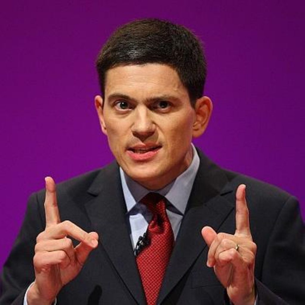 Two choices for Labour's future - David Miliband