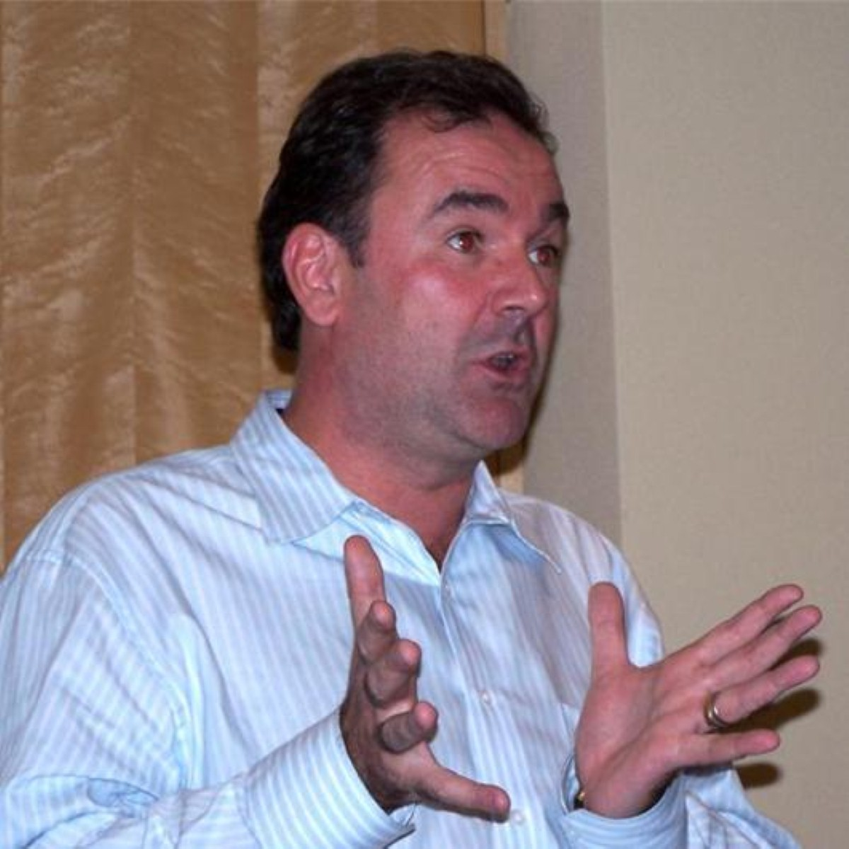 Jon Cruddas is a major voice on the left of the party