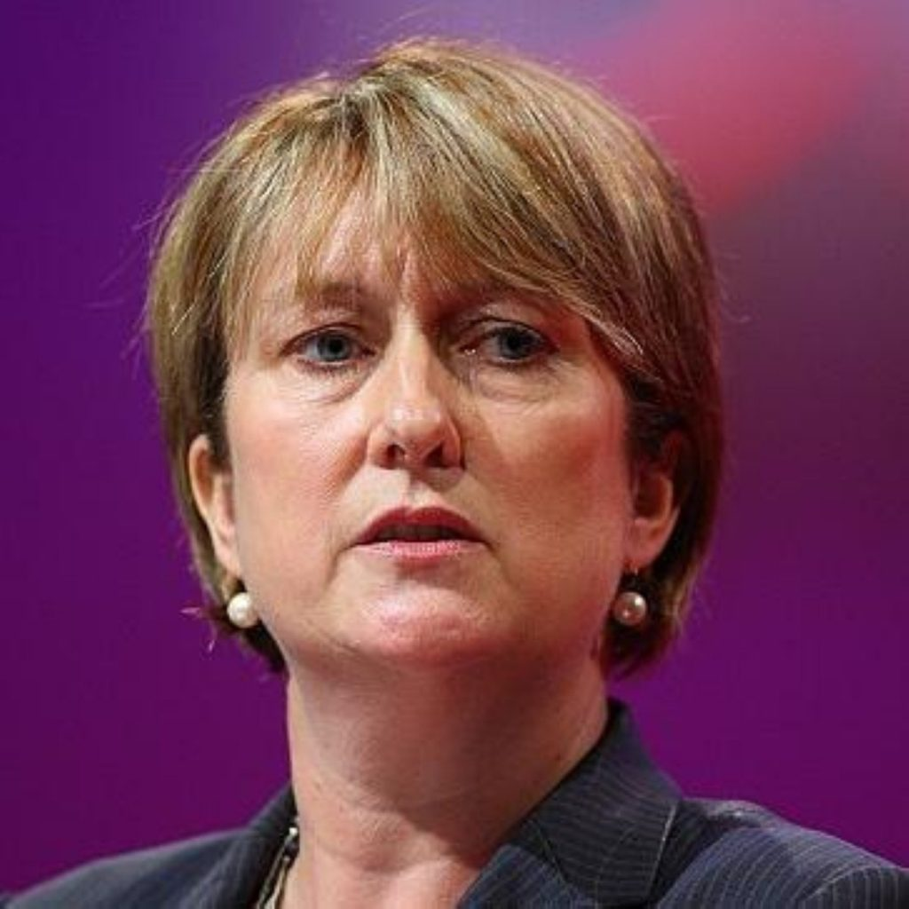 Jacqui Smith announced that 60 areas across England and Wales have signed up